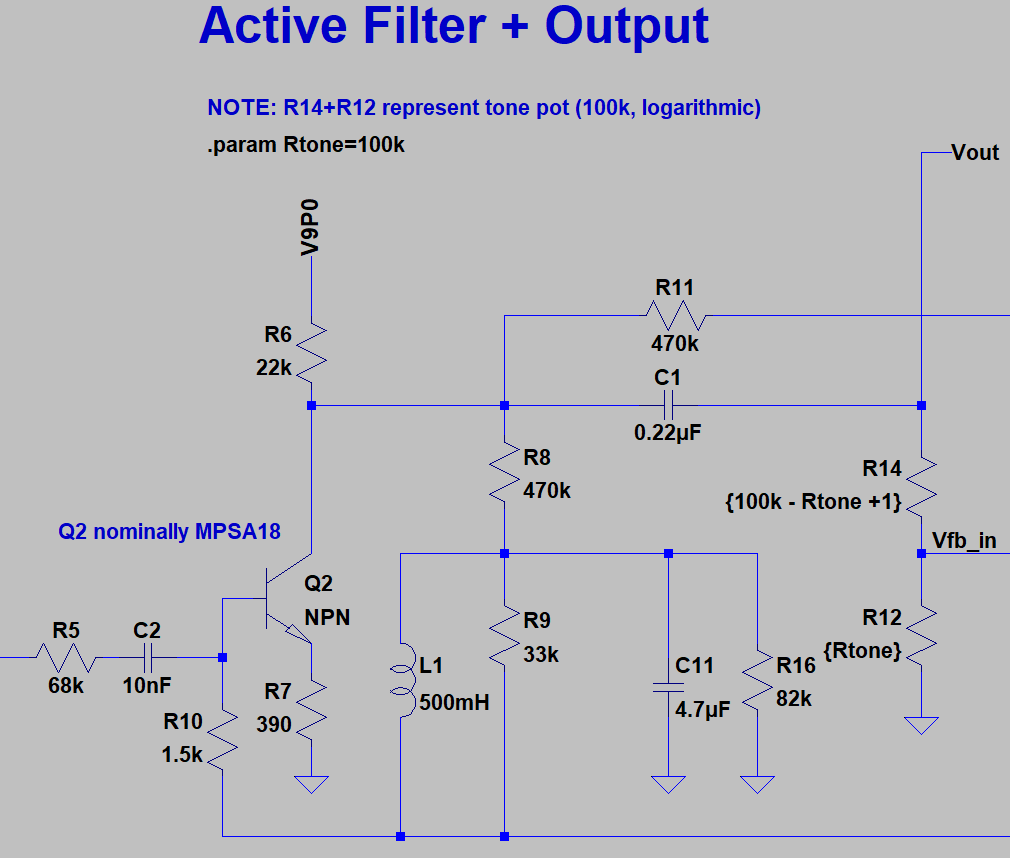 Active Filter + Output Stage